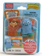 Moshi Monsters Mega Bloks Furi & Chop Chop